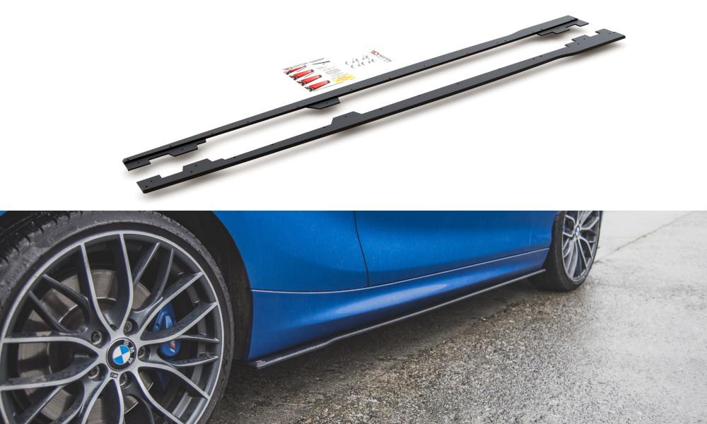 DOKŁADKI PROGÓW RACING DURABILITY BMW M135I F20 - GRUBYGARAGE - Sklep Tuningowy